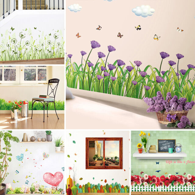 Beautiful  Large Love Flower Removable Vinyl Decal Wall Sticker Home Decor HU
