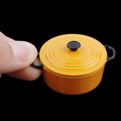 34 17mm 1:12 Dollhouse Miniature Cuisine Cuisson Casserole Jouet  Ft