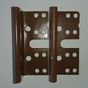 2 Bed Post Bracket For 2 Hook Slot Bed Rail Headboard Plates 3-3/4 ...