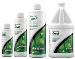 Seachem-FLOURISH-EXCEL-Organic-Carbon-Aquatic-Plants-100ml-250ml-500ml-2L-CO2