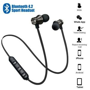 Wireless Bluetooth 5.0 Kopfhörer Kabellos Headset mit Kabel für Samsung iPhone