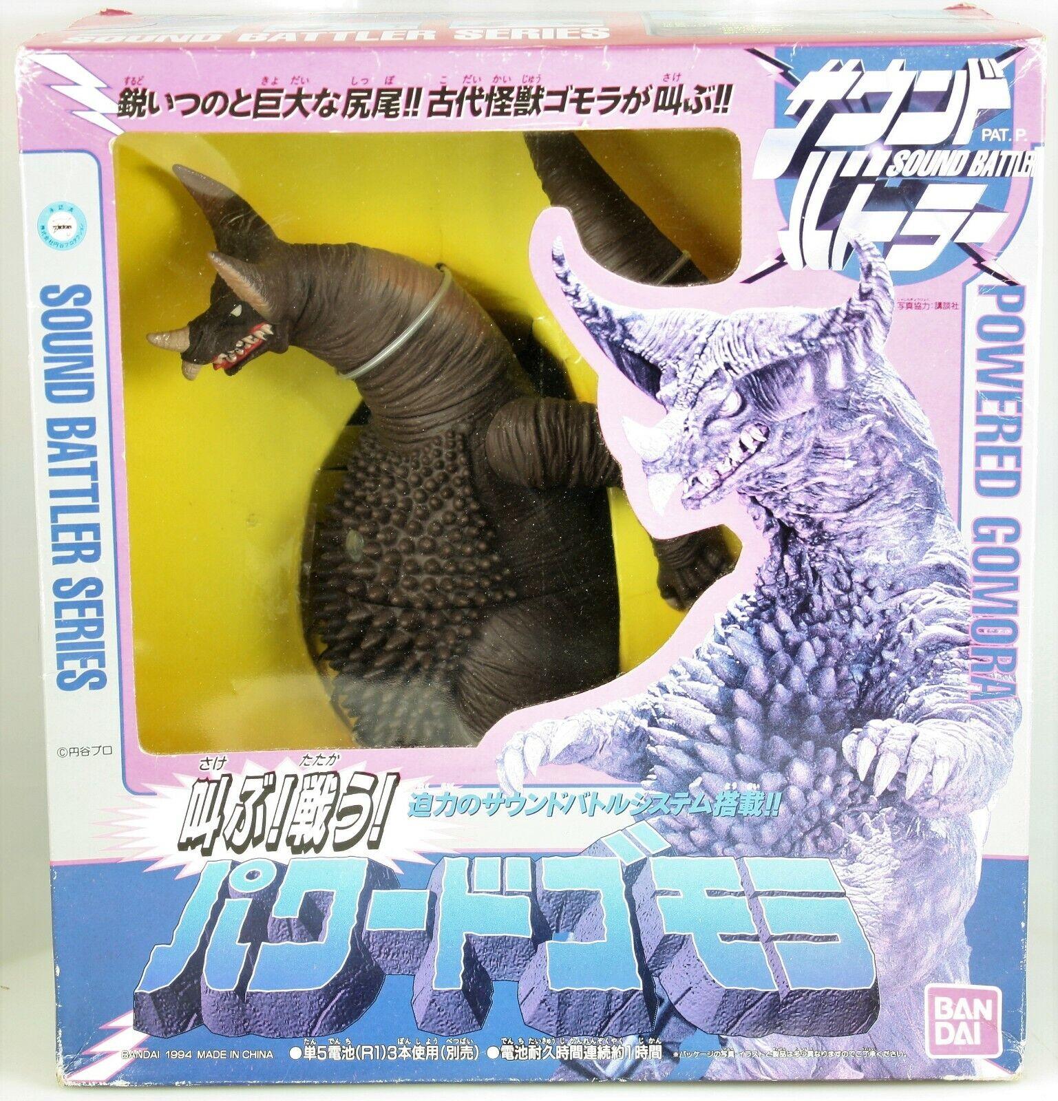Energiaosso Gomora suono Battler Series 11   cifra +scatola BeAI Ultrauomo Kaiju  design semplice e generoso