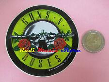 ADESIVO STICKER GUNS N ROSES 8X8 CM (***) no cd dvd lp mc vhs promo live