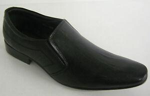 Enfiler Style Tag1 Élégant Noir Am À Cuir 801 Chaussures Habillé Hommes R5vHWp1x1