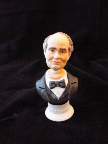 1970's Ski Country Decanter P.T. Barnum Circus Bust 5 New