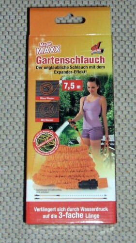 Magic Maxx Gartenschlauch TV Werbung Gartenschlauch 7,5 m Länge Gartenbrause