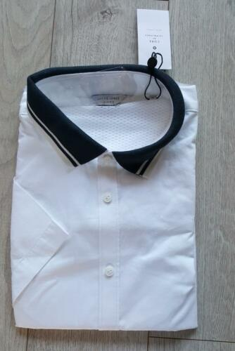 MEN/'S CORE by Jack /& Jones SHIRT SIZE XL short sleeves slim fit new with tag #39