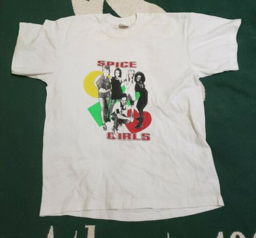 Vintage 1998 Spice Girls Spice Concert Tour Shirt