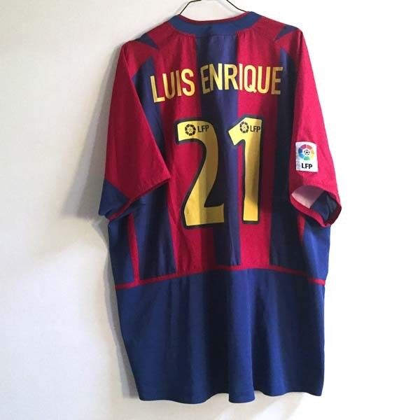 Shirt maillot trikot camiseta FC BARCELONE BARCELONA 2002 03 N21 vintage vtg LFP