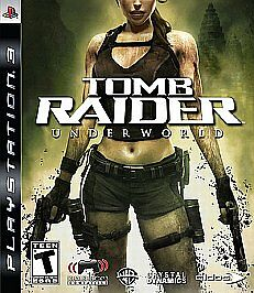 Tomb Raider Underworld For PlayStation 3 PS3 Game