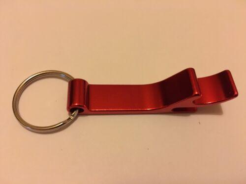 BUDWEISER BOTTLE OPENER KEYRING BOTTLE NEW IN PACKET CAN OPENER
