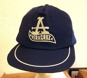 Veracruz Red Eagles Baseball Cap 1970s Mexican Baseball