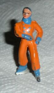 VINTAGE-BARCLAY-Lead-034-Boy-Skater-In-Orange-034-Lot-D-Excellent-Cond-Free-Shipping