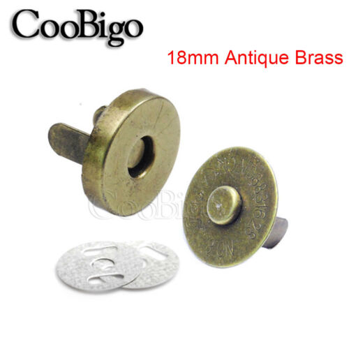 10//14//18mm Strong Magnetic snap fasteners Clasp Button For Handbag purse wallet
