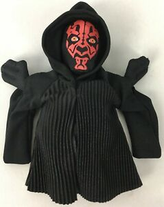 Star-Wars-Ep-I-Phantom-Menace-Hasbro-Buddies-Darth-Maul-1998-7-034-Beanie-Toy-New