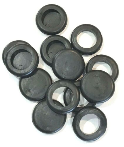 Blanking 20mm or 25mm British General Electrical Rubber Grommets Open /& Blind
