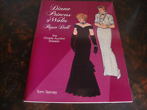 Diana Princess Of Wales---Paper Dolls---Dover---1997---Uncut---9x12---Tierney