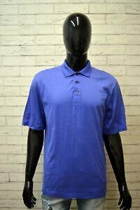 Polo-RALPH-LAUREN-GOLF-Maglia-L-Uomo-Shirt-Maglietta-Manica-Corta-Cotone-Viola