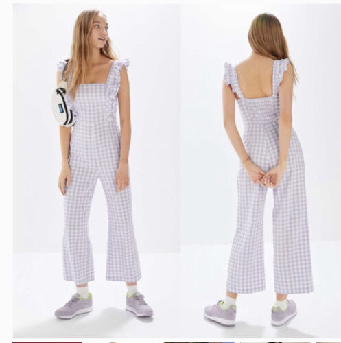 Urban Outfitters Emerson Gingham Romper
