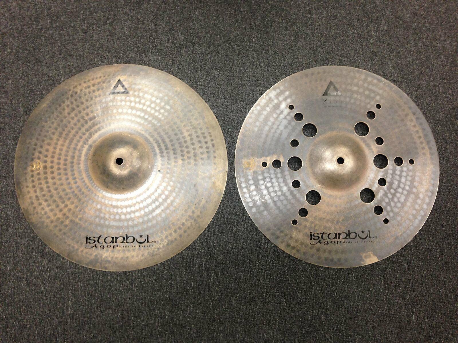 Istanbul Agop 15  Xist Ion Dark Hi-Hat Cymbals (Pair)