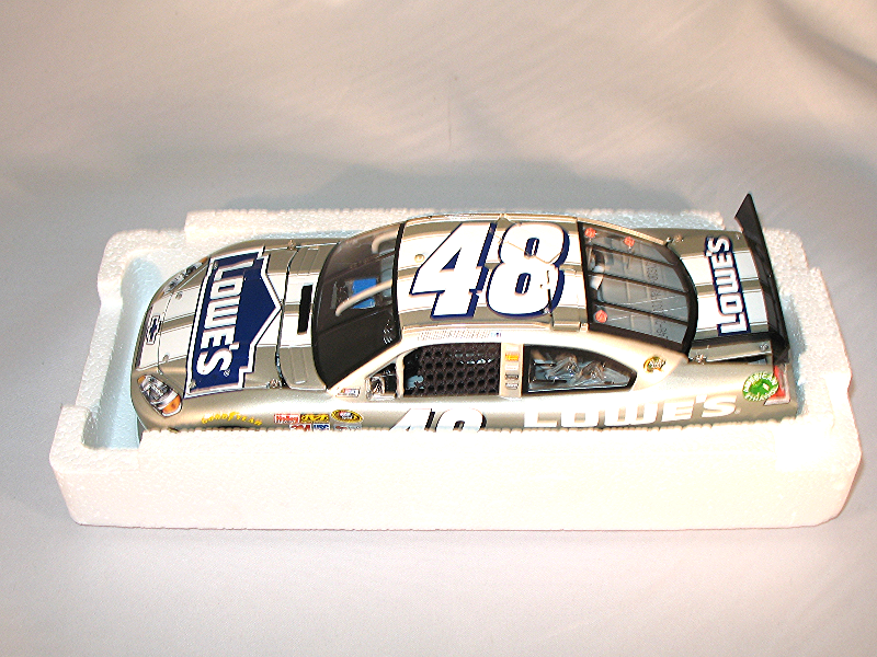Nascar Jimmie Johnson 1 24 Action Diecast 2012 Impala  48 Lowes Frost 1 348