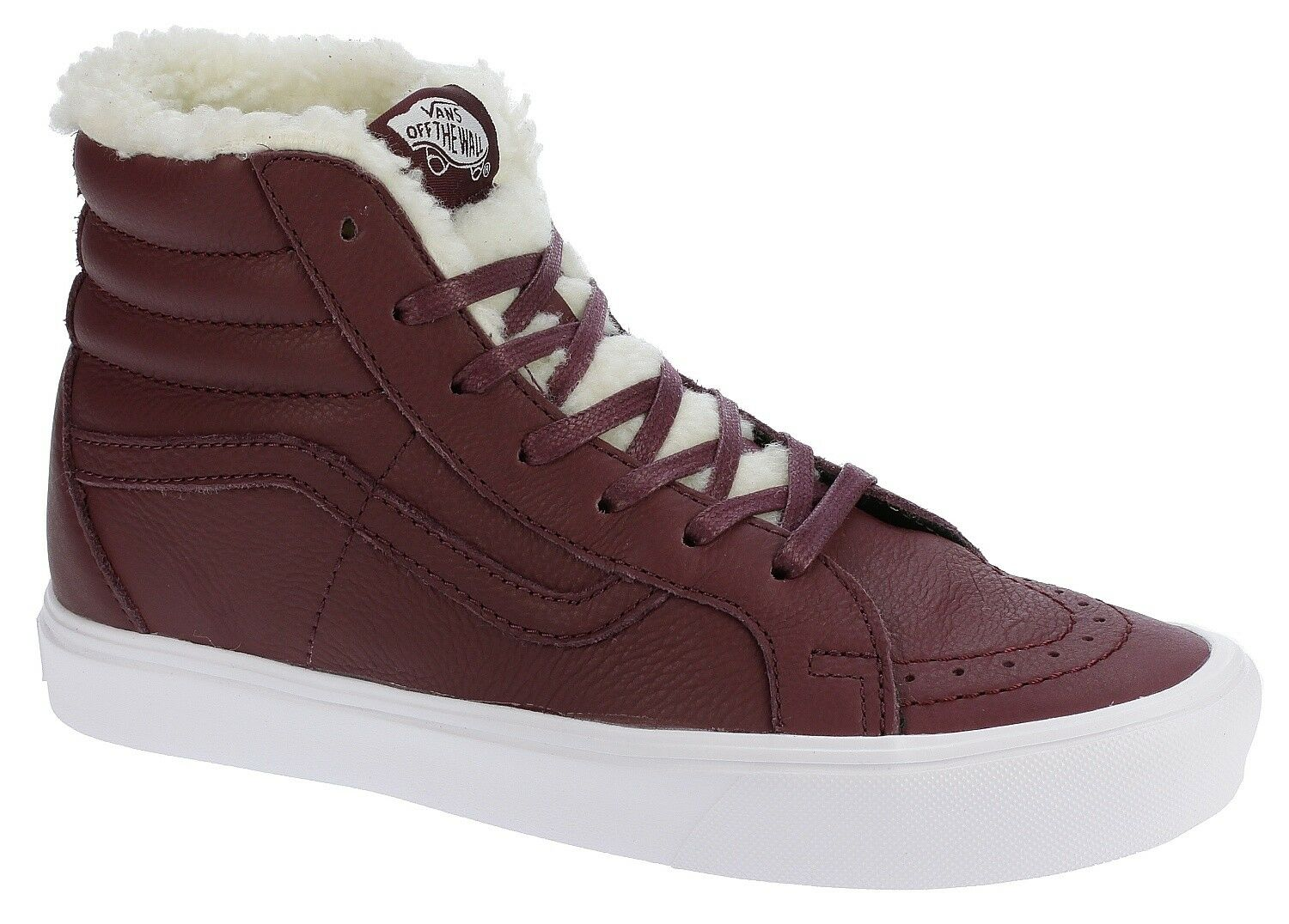 Vans Unisex SK8-Hi Reissue Lite SHERPA PORT ROYALE True White US Mens 8.5 WMN 10