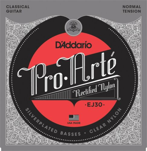 Normal Tension D/'Addario EJ30 Classics Rectified Classical Guitar Strings