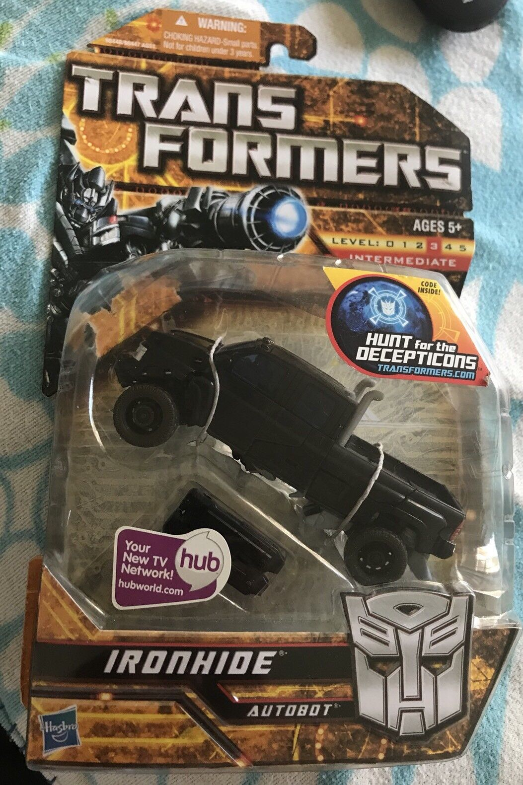 Transformers HFTD Ironhide Deluxe MISB Sealed Rare