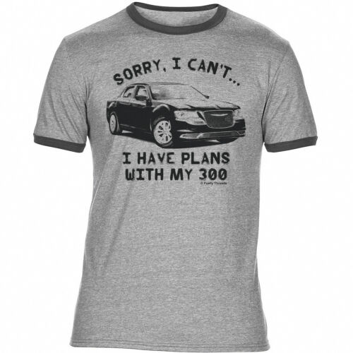Sorry..I Have Plans With My 300 Chrysler Mens CAR T-Shirt Retro Classic
