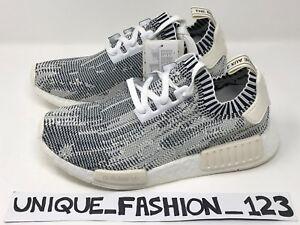 Adidas nmd r1 primeknit grigio mimetico guasto evidente onyx uk 6 7 8 9 10