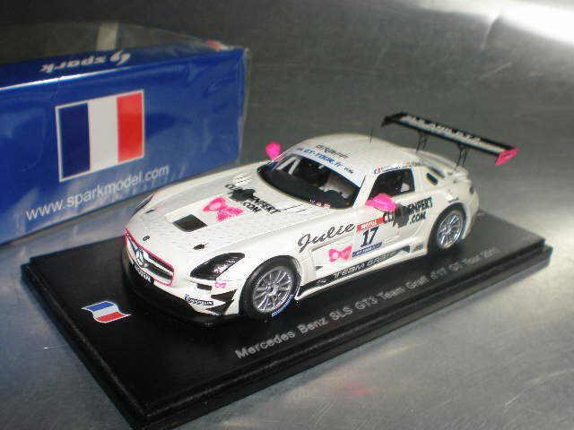 buen precio 1 43 Spark  SF020 SF020 SF020 Mercedes-Benz SLS GT3 Team Graff  17 GT Tour 2011  tienda en linea