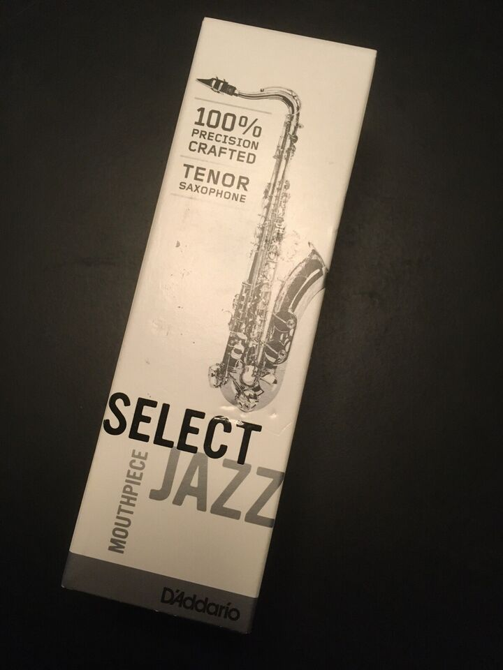 Mundstykke, D'Addario Jazz Select D8M tenor