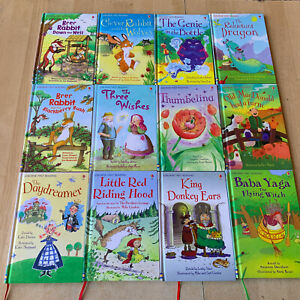 lot 12 livres série Usborne First Reading - livres jeunesse en anglais English