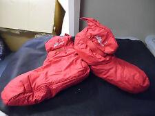 Red Padded puffa Intermezzo warm up boots - XLarge - Size 7+