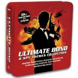 ULTIMATE-Bond-amp-SPY-Themes-Limousine-METALBOX-ed-2-CD-NUOVO