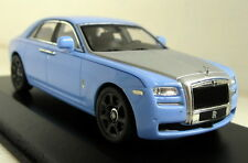 IXO 1/43 escala MOC168P Rolls Royce Ghost Alpine Coche Modelo Diecast Azul Ensayos