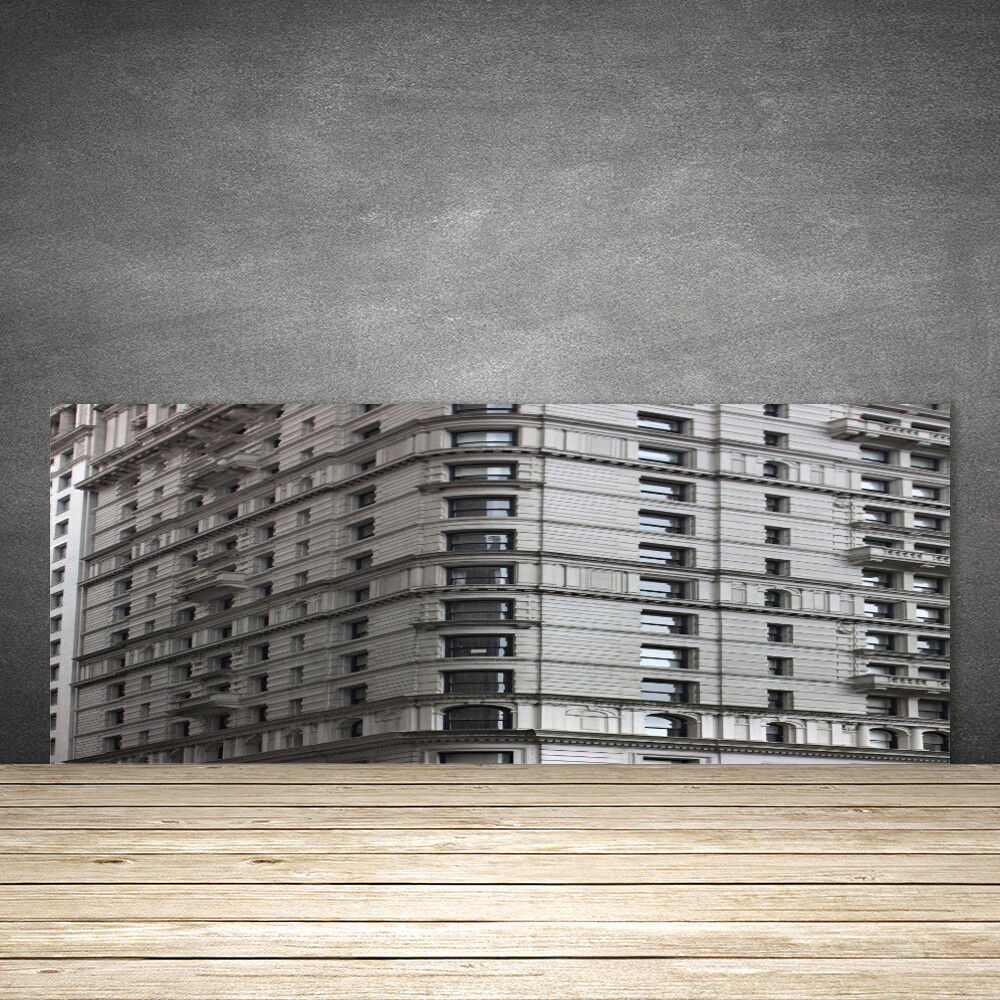 Crédence de cuisine en verre Panneau 125x50 Batiments Batiment