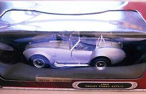 Shelby-Cobra-427-S-C-1964-ARGENTO-Argentin-silver-metallizzato-Road-Signature-1-18