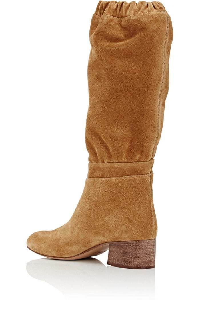 Chloe Slouchy 38.5 Knee braun Stiefel Leather Suede  1350 38.5 Slouchy US 8.5, Gorgeous eb55e1