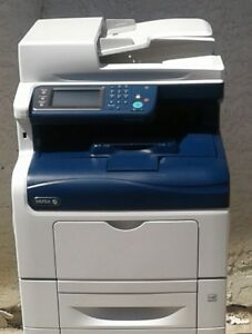 Xerox-WorkCentre-6605DN-Color-Laser-MFP-Only-9K-Prints-Copies-Total