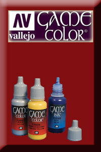 Game Color Gory Red 72011 Acrylic Paint Vallejo Mode Attrayante