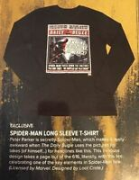 Loot Crate Dx Exclusive June 2017 Spider-man Long Sleeve T-shirt Pick Your Size