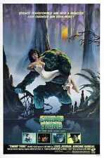Swamp Thing Poster 01 Metal Sign A4 12x8 Aluminium