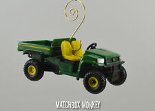 John Deere ATV 4x4 Gator HPX Custom Christmas Ornament 1/64 Rhino Honda Polaris