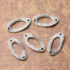 Tibetan Silver Giraffe Connectors 30mm x 8mm Jewellery Craft  W163 10 Pcs
