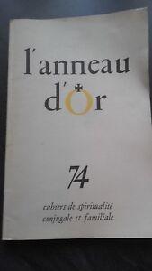 ANILLO D'Or 74 Libros De Espiritualidad Nacionales Y Familiar 1957 Fuego Nuevo