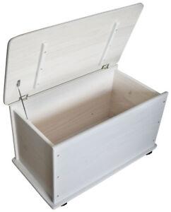 KMH-Spielzeugkiste-Spielzeugbox-Holzkiste-weiss-Deckel-Truhe-Spielkiste-Holz