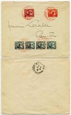 FRENCH INDOCHINA RURAL POST CANTHO PROVINCE LOCAL BINHTHUY