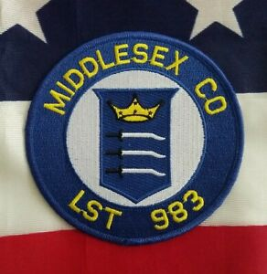 USS Middlesex County LST 983 Tank Landing Ship USN Military Navy Patch