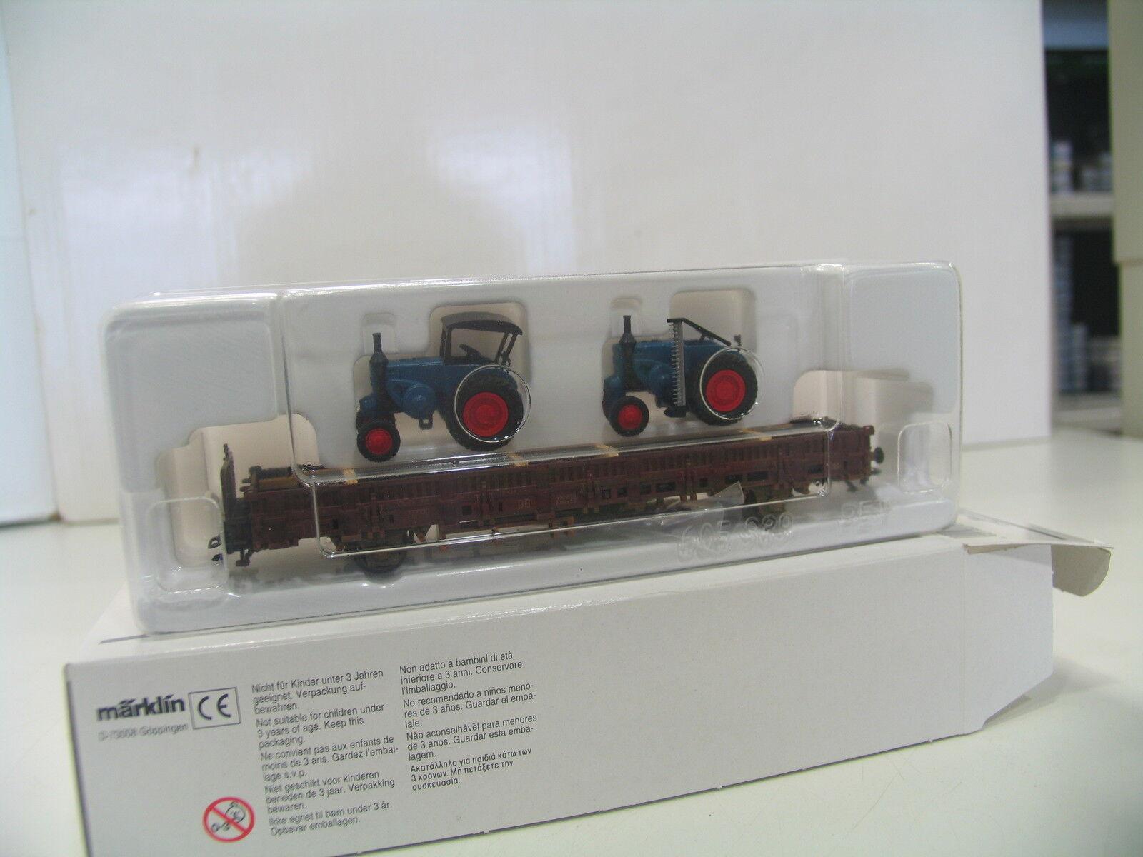 MÄRKIN 46948 NIEDERBORDWAGEN mit TRAKTOREN BELADEN  PA511  | Verrückter Preis, Birmingham